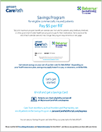 Thumbnail of the Janssen Carepath Savings program
