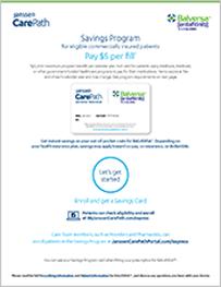 Thumbnail of the Janssen Carepath Savings program